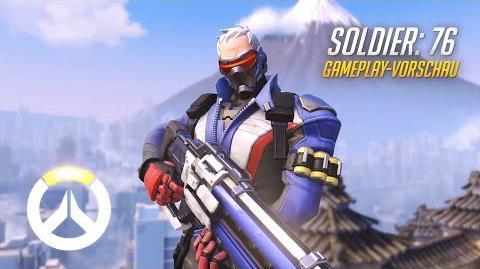 Overwatch Soldier 76 Gameplay-Vorschau (DE)