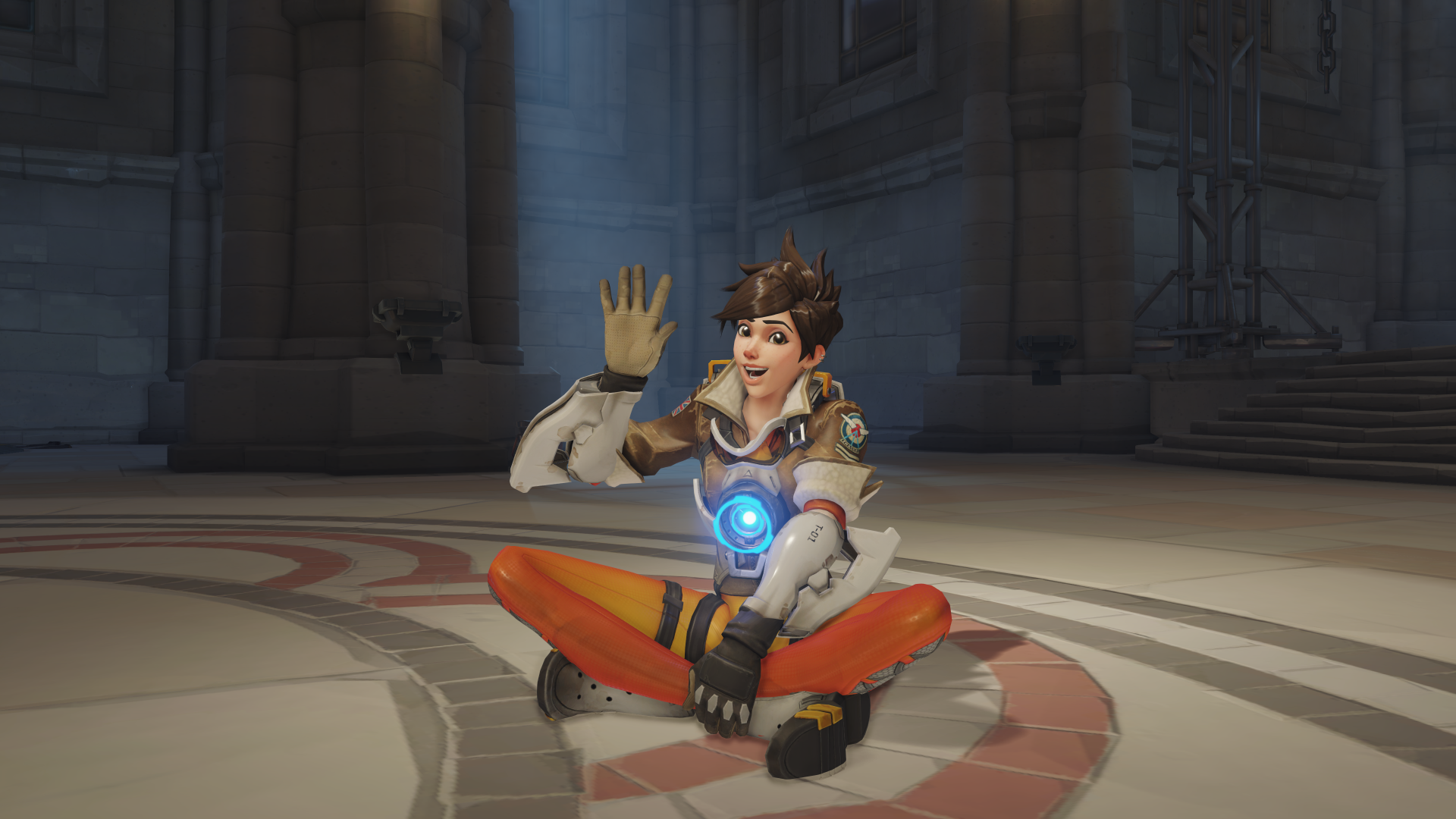 Image mei portrait png overwatch wiki fandom powered by wikia - Tracer Sitting Png