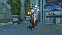 Overwatch Halloween 2018 Pose Mercy