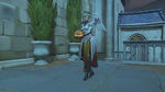 Mercy - Pumpkin victory pose - Overwatch