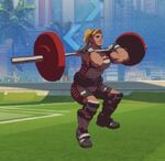 Zarya Spray - Weightlifting - Olympics