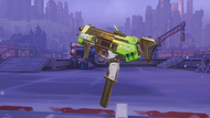Sombra glitch golden machinepistol