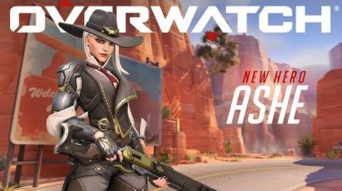 NEW HERO Introducing Ashe Overwatch