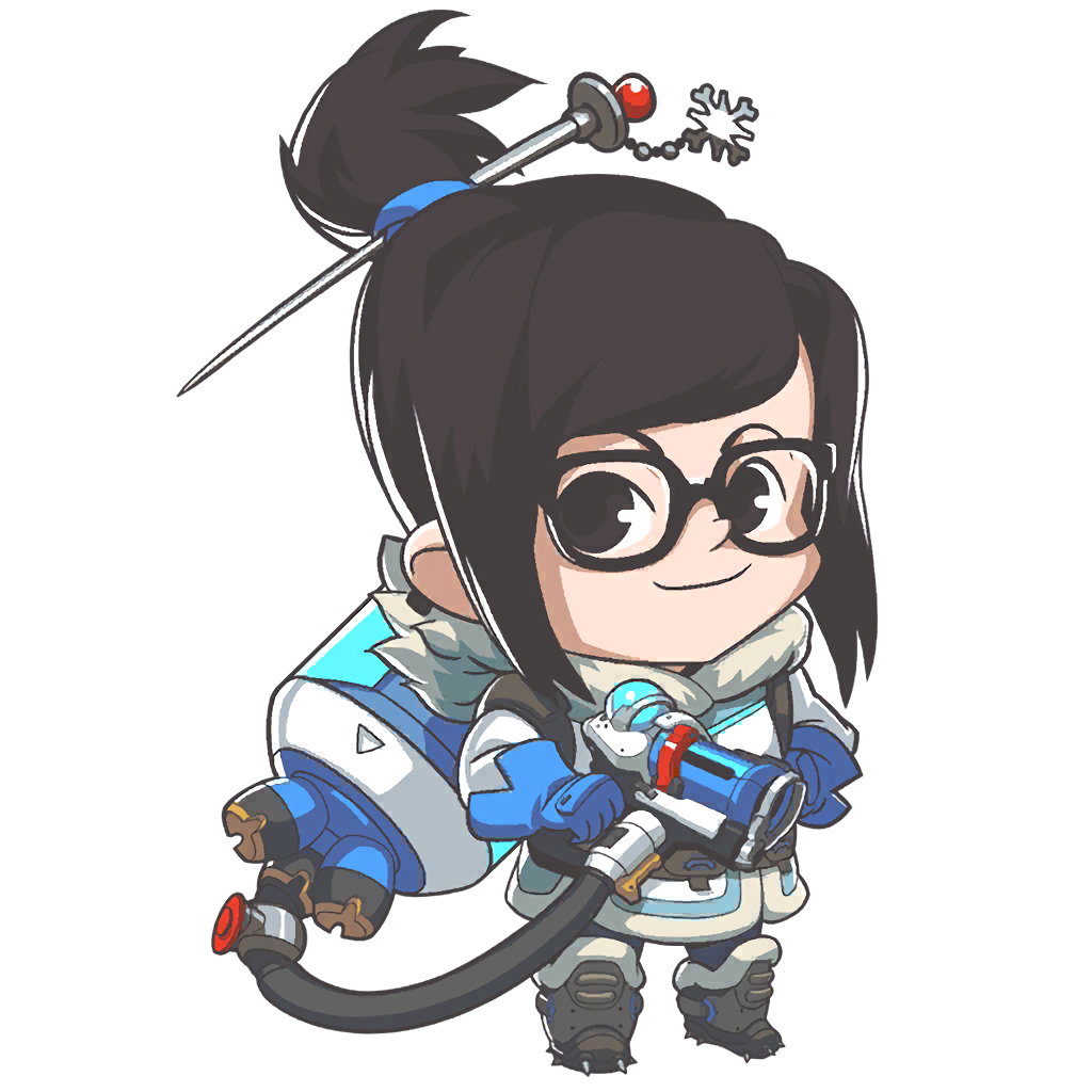 Image mei portrait png overwatch wiki fandom powered by wikia - Mei Cute Png