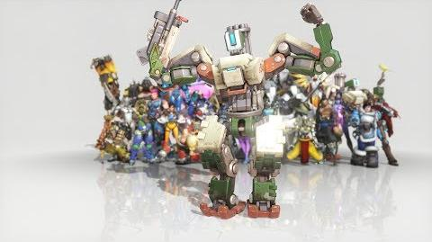 Overwatch - Anniversary Bastion emote - Robo Boogie