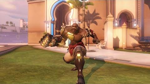 Overwatch Doomfist emote - Fake Out