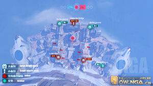Nepal overhead map
