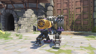 Bastion tombstone golden sentry