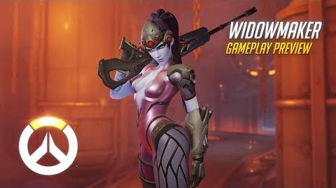 Overwatch Widowmaker Gameplay Preview 1080p HD, 60 FPS