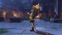 Junkrat halloweenterror2017 victorypose pumpkin