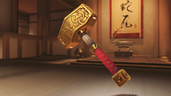 Torbjorn viking skin forge hammer (golden)