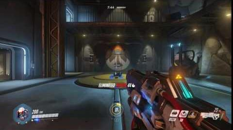 Soldier 76 Ability - Helix Rockets