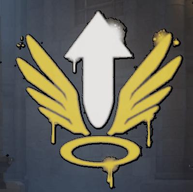 Image Mercy Spray Arrowg Overwatch Wiki Fandom Powered By