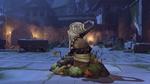 Roadhog halloweenterror victorypose rip