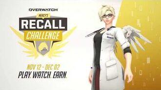 Mercy's Recall Challenge Overwatch