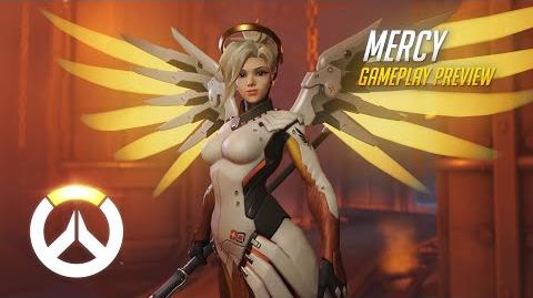Mercy Gameplay Preview Overwatch 1080p HD, 60 FPS