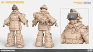 Mei firefighter highpoly