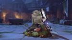 Zarya halloweenterror victorypose rip