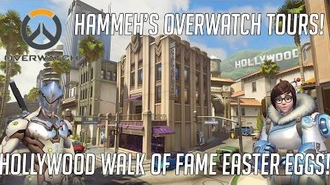 Overwatch Hollywood Walk of Fame Easter Eggs!