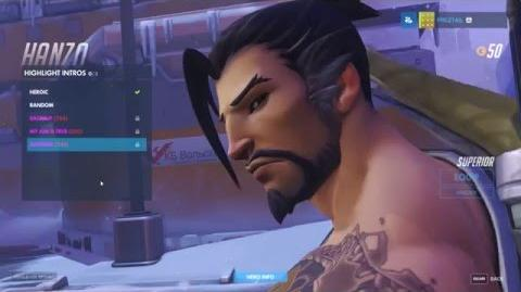 Overwatch Hanzo. ALL Unlockables Showcase. Epic Settings. 1080p 60 FPS