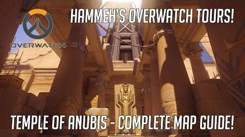 Overwatch Temple of Anubis Map - Complete Guide! Overwatch Tours!