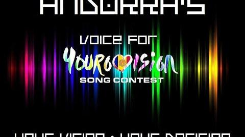 Andorra's Voice for Yourovision
