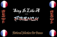 Sing It Like A French