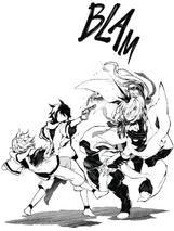 Yūichirō dispara a Ferid (Manga)