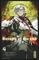 Seraph of the end tome 4 couverture fr