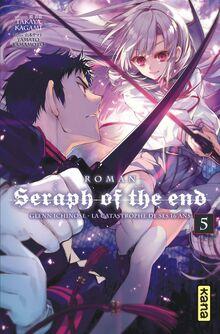 Guren Ichinose la catastrophe de ses 16 ans roman tome 5 couverture