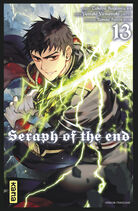 Seraph of the end tome 13 couverture fr