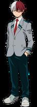 Shoto Todoroki Uniforme
