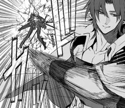 Crowley lanza a Guren (Manga)