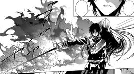Mahiru Hīragi poseyendo a Guren (Manga)