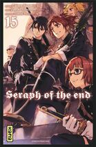 Seraph of the end tome 15 couverture fr