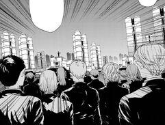 Secte Hyakuya armée image manga