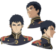 Kureto's Anime face production art