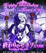 Happy Birthday Tenri!