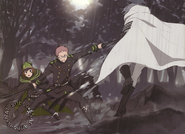 Kimizuki protecting Yoichi