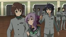 Episode 4 - Shino pairing off with Yoichi