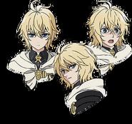 Mika's Anime face production art