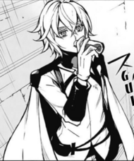 Mika drinks Shinoa Squad's blood