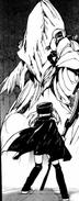 Young Mitsu confront Horseman