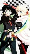 Yu and Mika Fan Art