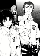 Catastrophe Book 3 - Kureto, Guren, and Shinoa after Mahiru's broadcast