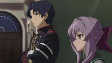 Episode 4 - Guren telling Shinoa to do her job
