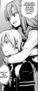 Mahiru holding Shinya