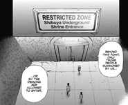 Shibuya Restricted Zone