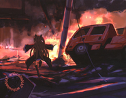 Krul the end of the world anime artbook