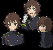 Yoichi's Anime face production art